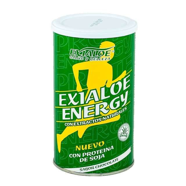 . Este batido nutricional, EXIALOE ENERGY est� desarrollado pensando en el aporte �ptimo de las necesidades nutricionales de las personas, por tanto el producto aporta una equilibrada proporci�n de macronutrientes (prote�nas, gl�cidos y �cidos grasos esenci