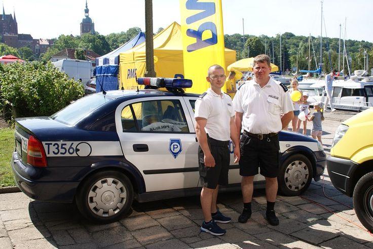 O bezpieczeństwie nad wodą z TVP1 i radiem RMF FM...