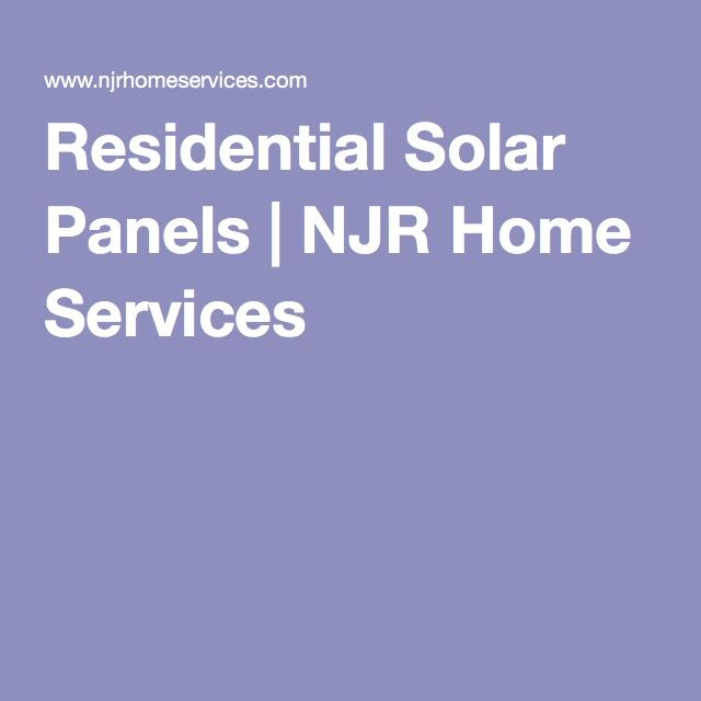 1000 Ideas About Residential Solar Panels On Pinterest