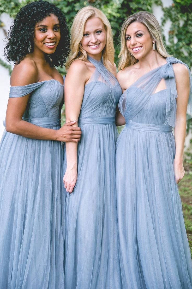 Revelry - Rosalie Convertible Dress, $175.00 (http://wedding.shoprevelry.com/Revelry-convertible-tulle-bridesmaid-dress-rosalie-convertible-dress/)