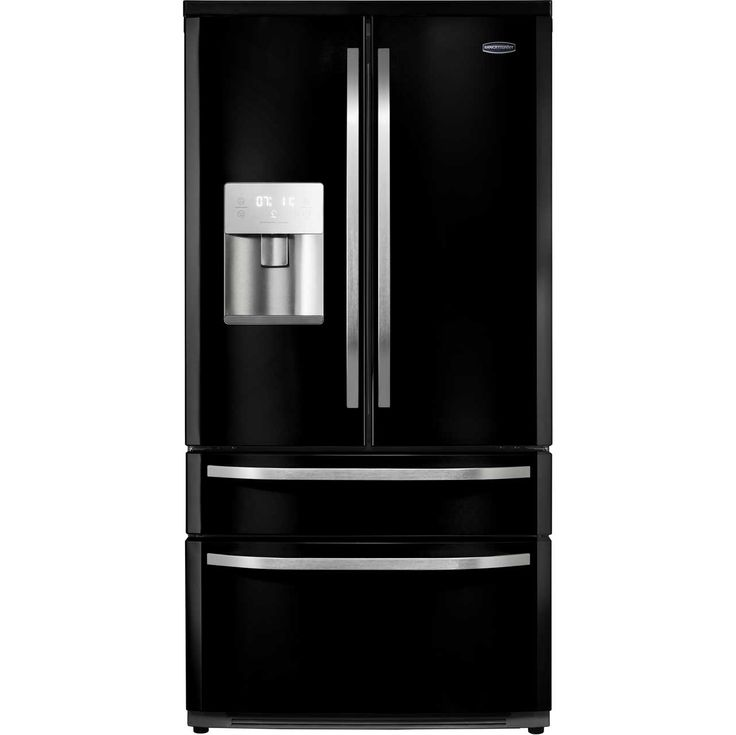 rangemaster dxd rdxd15blc american fridge freezer black chrome