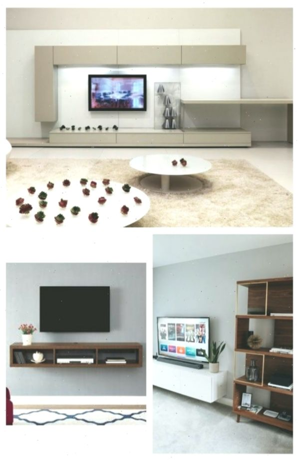 20 Stunning Tv Stands Ideas For Wall Mounted Tv Living Room Tv Wall Wall Mounted Tv Cabinet Tv Wall Decor