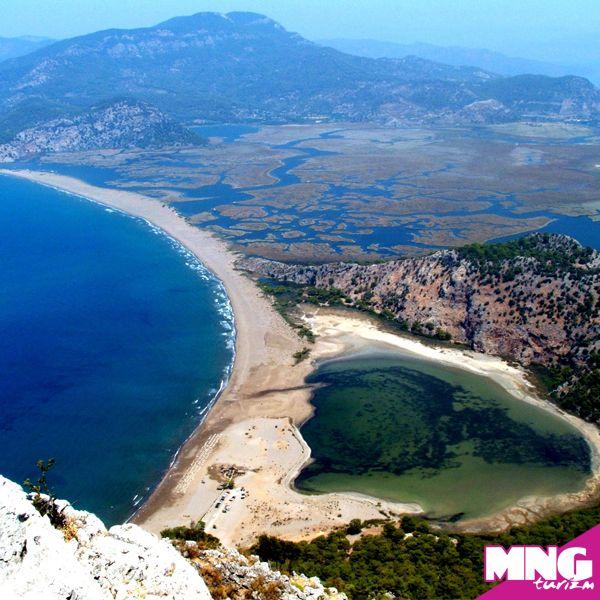 İztuzu Plajı, Dalyan-Muğla (Likya Turları) #mngturizm #tatiliste #kültürturları #ege #plaj #muğla #travel