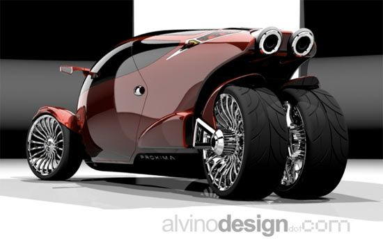Proxima Concept Trike Never Seen A Trike Like This I
