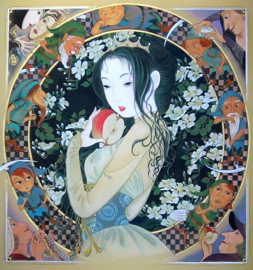 Tsukuda Kisho 佃喜翔 Shirayukihime 白雪姫 (Snow White) - O hime-sama series おひめさまシリーズ - 2008