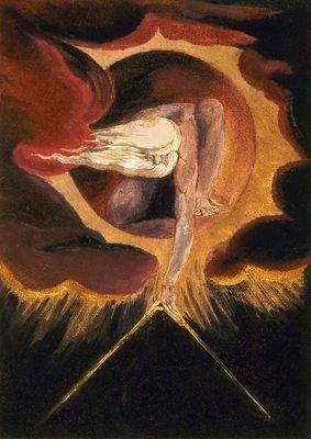 L'ancien des jours, par William Blake