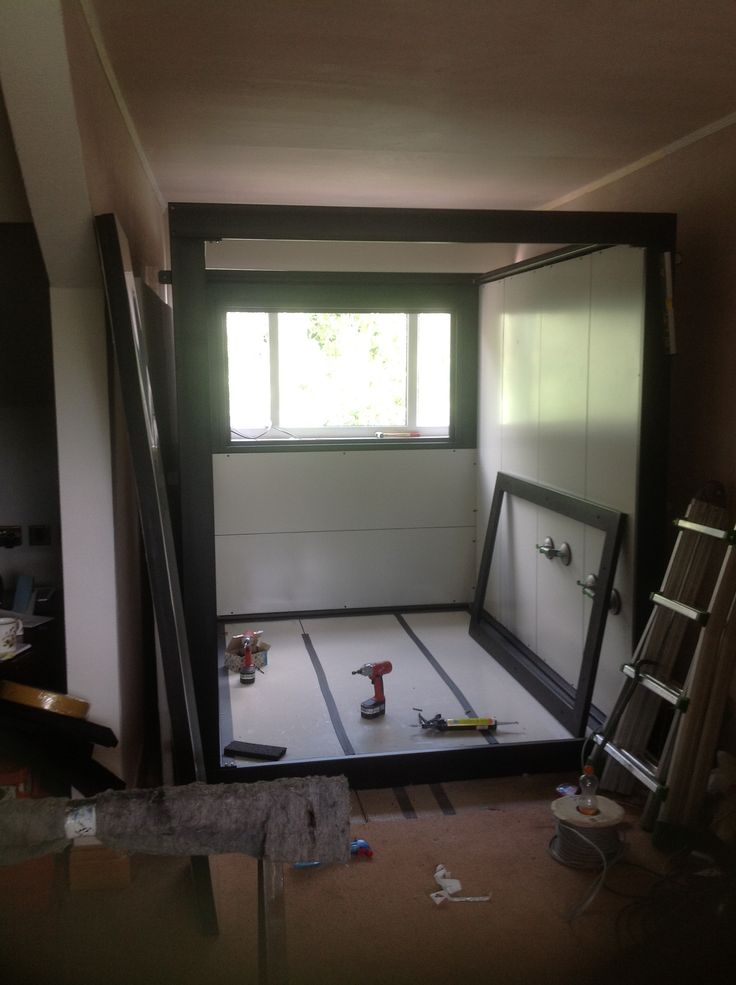 Installing A BOXY Modular Music Room Into The Home Of A Jazz Drummer  #musicroom #