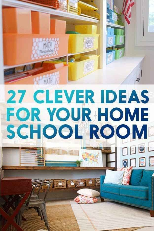 96 Best For The Kids Homeschool Room Organization Images