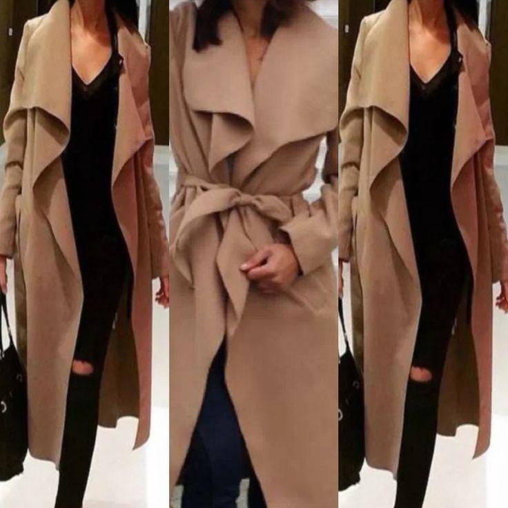 coat in camel