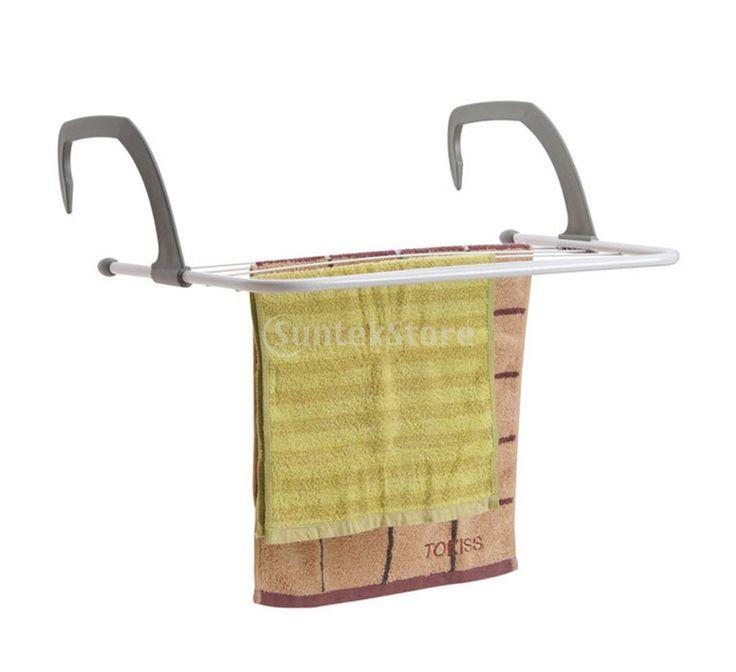 5 Bar металла микросотовых радиатор вешалками сушилка для белья для купить на AliExpress