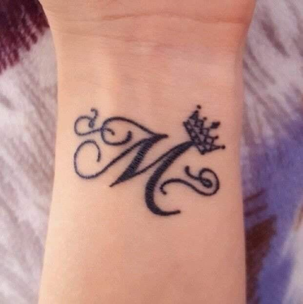 Pin By Marley Mendez On Letter M Alphabet Tattoo Designs Tattoo Lettering Henna Tattoo Designs