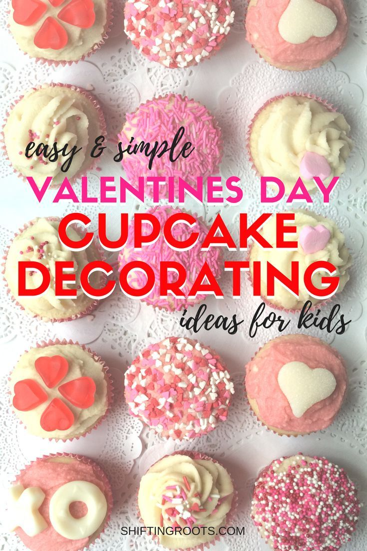 Easy Simple Valentines Day Cupcake Decorating Real Cooking Kids