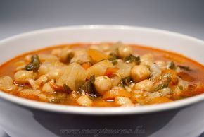 Csicseriborsó leves magyarosan ~ Receptműves