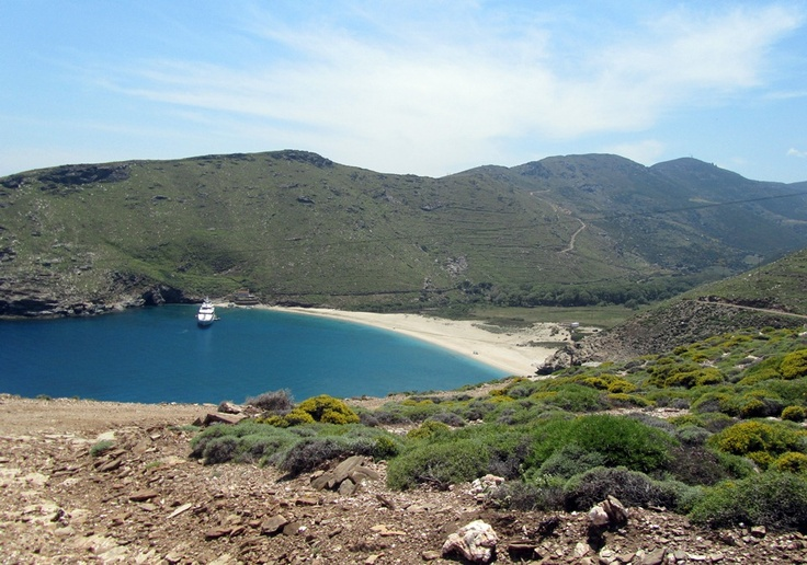 #Onar #Andros #island #Greece #Ahla #beach