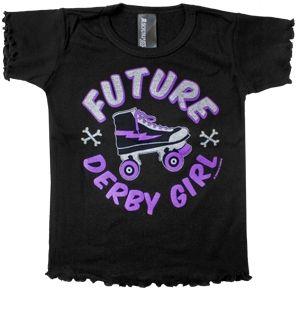 Future Derby Girl T shirt $5