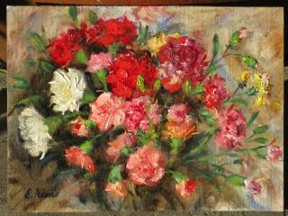 Carnations - Original Oil Painting by Enoch Hlisic