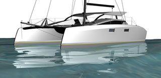 Flying Fish 11 Catamaran - Grainger Designs Multihull Yachts