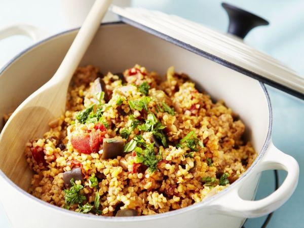 Mediterrane groenten met gehakt en bulgur - Libelle Lekker!