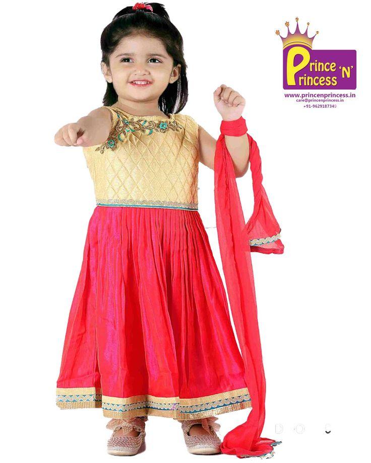 Kids grand  chudidhar traditional ethnic wear india