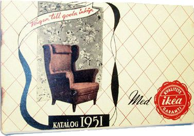 IKEA Catalog 1951 - First IKEA Catalog
