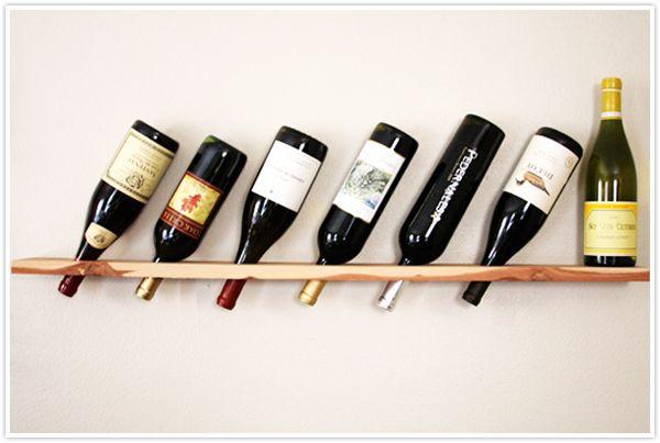 Diy wood plank wine rack instructional