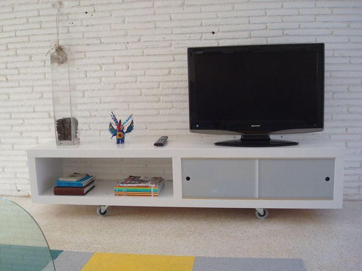 Semi-home made 'LACKured' media cabinet - IKEA Hackers