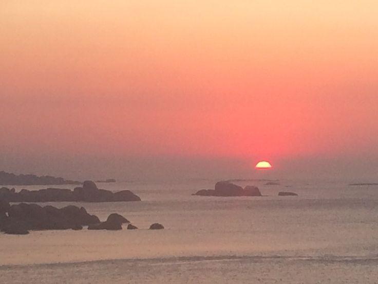 sunset near Llundudno Cape Town
