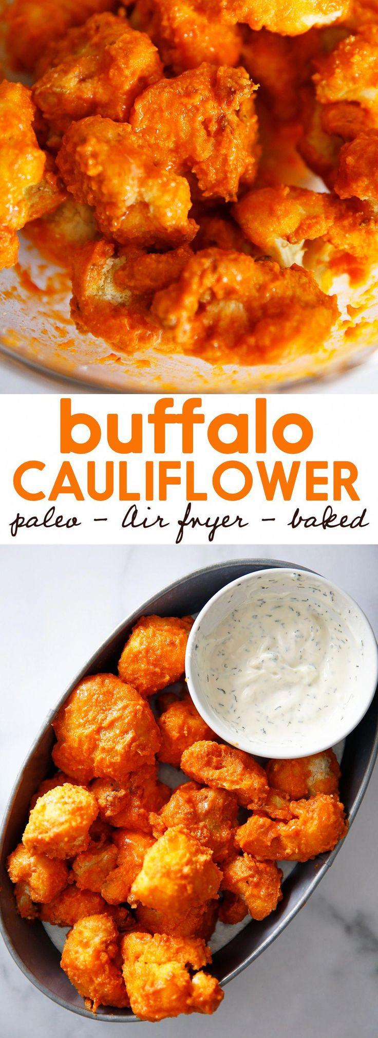 Air Fryer Buffalo Cauliflower Nuggets Recipe Air fryer
