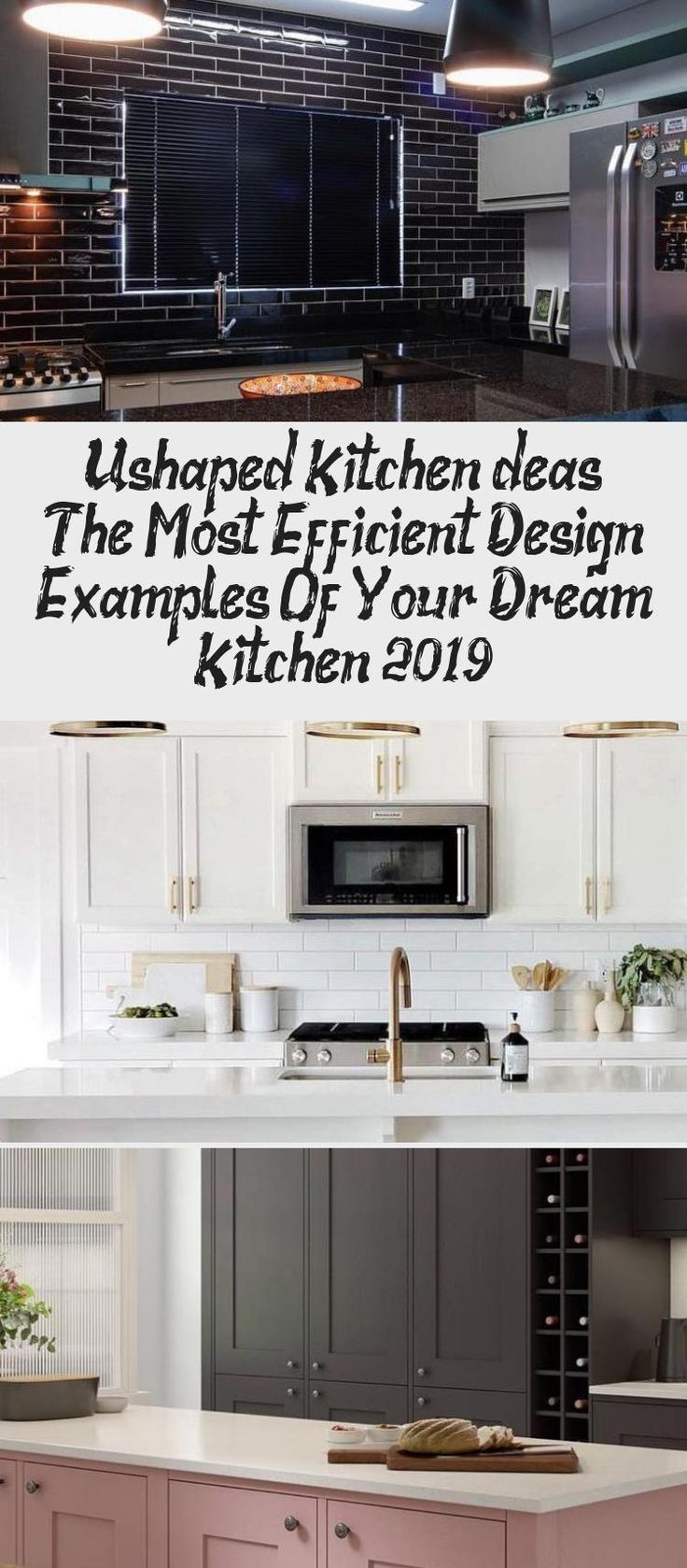 u shaped kitchen i̇deas the most efficient design examples of your dream kitchen 2019 kitchen on kitchen ideas u shaped id=30619