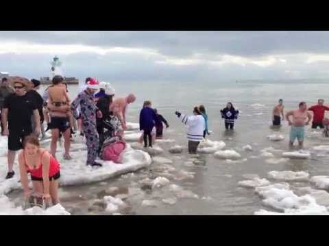 Polar Bear Dip 2013 Port Dover - YouTube - Norfolk County