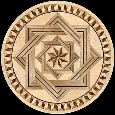 37 Best Images About The Hardwood Floor Medallion Inlays