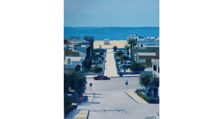Local scenes: Dan Janotta's new paintings go on view at Java Man Saturday in Hermosa Beach