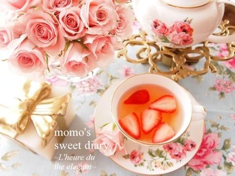 strawberry tea time