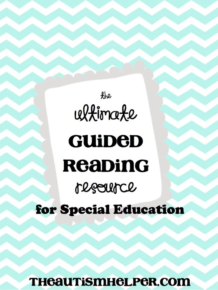 ULTIMATE Guided Reading Resource by theautismhelper.com