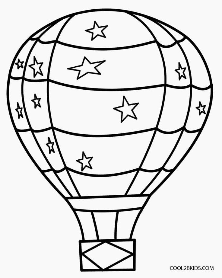 air coloring pages for kids - photo#15