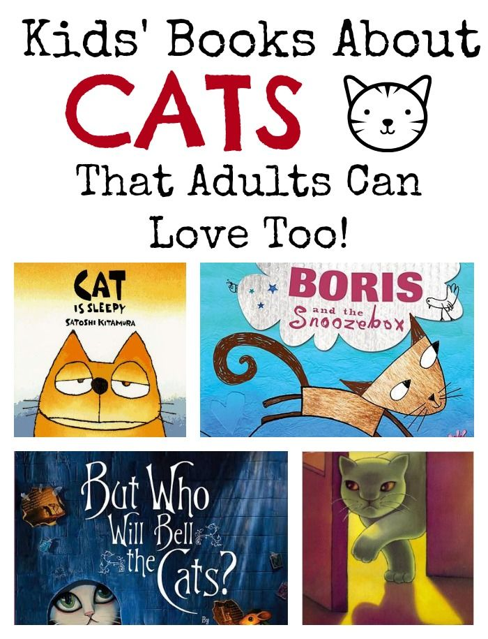 Children's books for cat lovers of all ages, books about cats