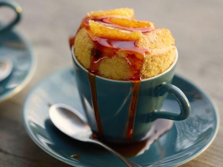 Découvrez la recette Mug cake au chocolat et au caramel sur cuisineactuelle.fr.