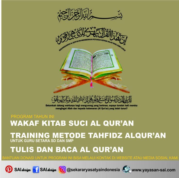 yayasan sai, hafidz al qur'an