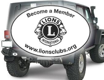 Lions Removable Bumper Sticker $0.95
