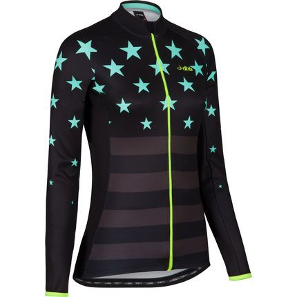 Wiggle | dhb Women's Blok Superstar Long Sleeve Jersey | Long Sleeve Cycling Jerseys