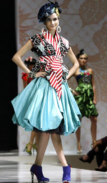 fashion, batik Indonesia