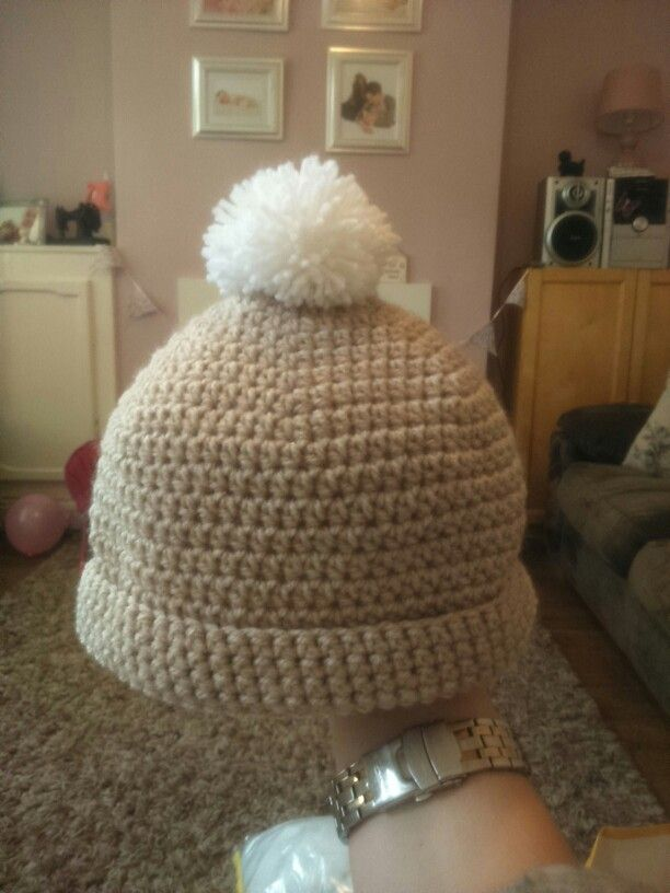 Another little hat made using the rico baby hat pattern xx
