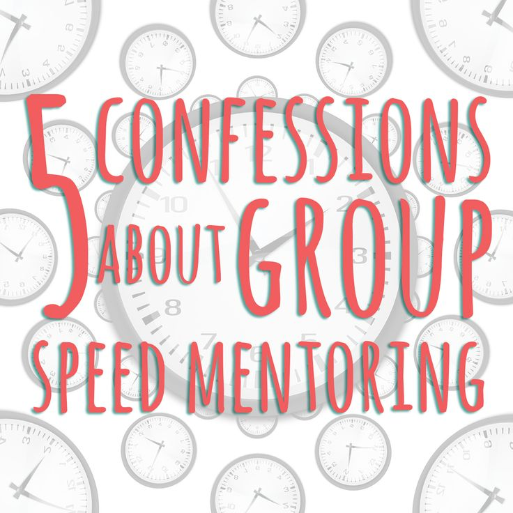 group speed mentoring, what to do, what to pay attention to, advertising and marketing yourself.