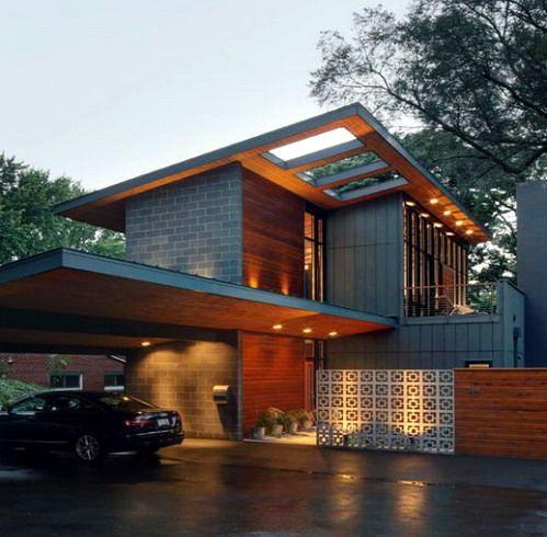 Sketsa Rumah Minimalis & 88 best ide rumah images on Pinterest | Modern homes Arquitetura ...