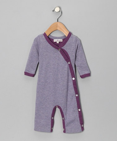 Purple Playsuit by HuggyBunny