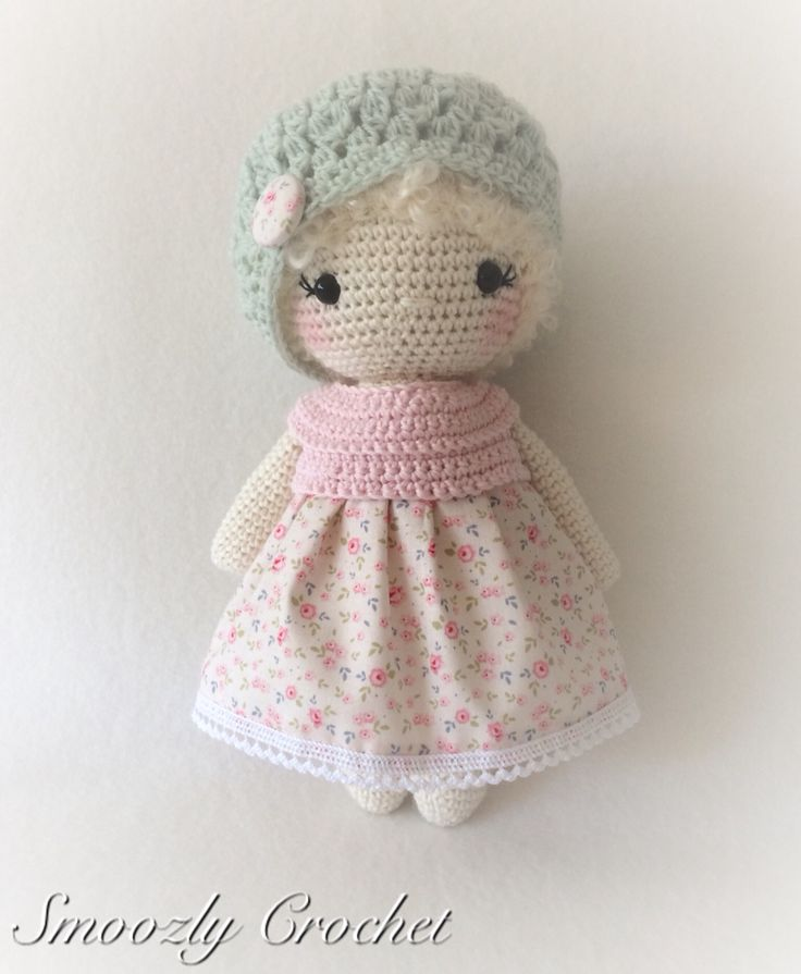 One of my crochet dolls                                                                                                                                                                                 More