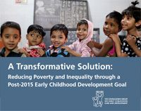 Early Childhood Development in the Post-2015 Development Agenda | The Education and Development Forum