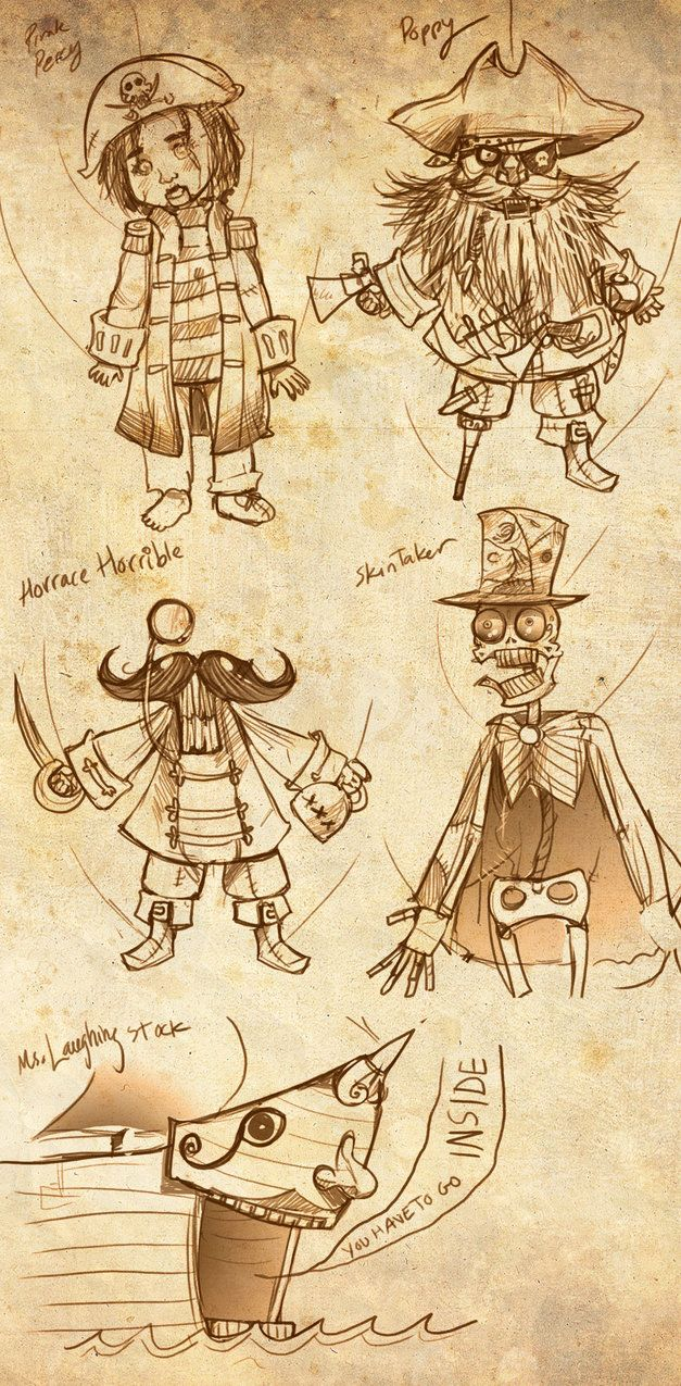 Candle Cove doodles by Drunkfu                              …