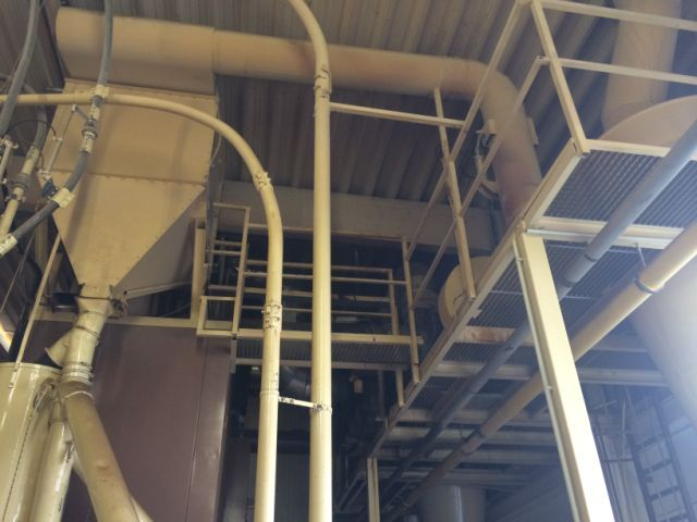 Coffee Roasting Line Fill Volume 150 Kg Capacity 1000 Kg Hour