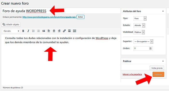 Https Beseomyfriend Com Crear Foro Bbpress Foros Wordpress Tutoriales
